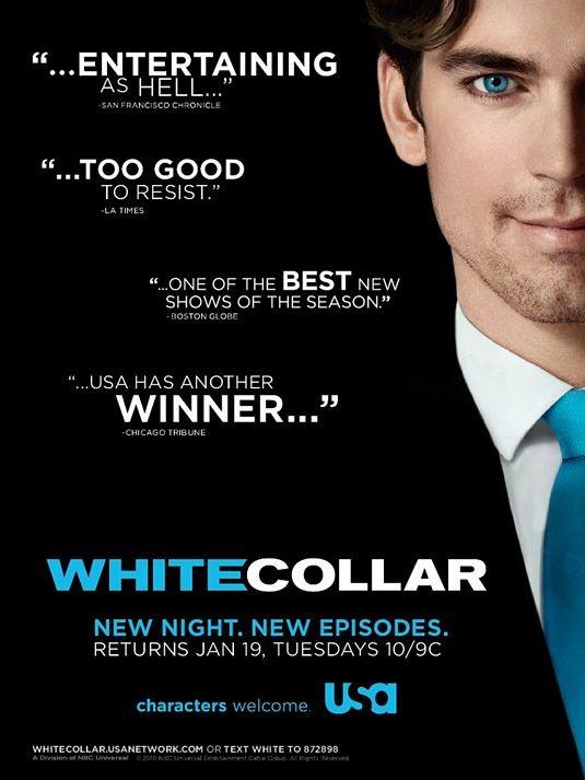 Nuovo poster della serie White Collar