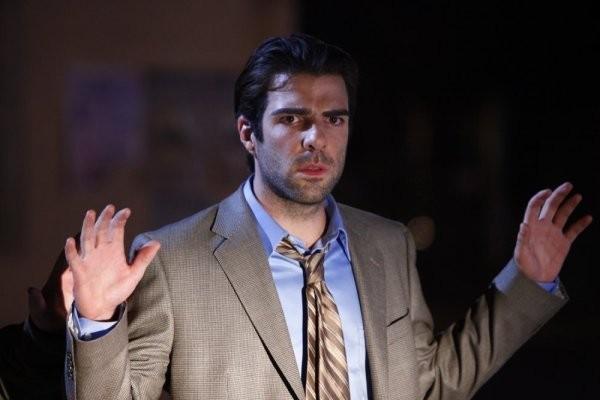 Zachary Quinto in una scena di Shadowboxing dalla quarta stagione di Heroes