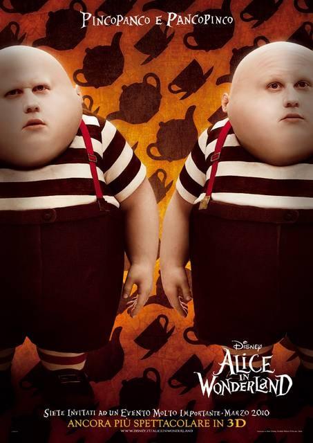 Character Poster Italiano \'Pincopanco e Pancopinco\' - Alice In Wonderland