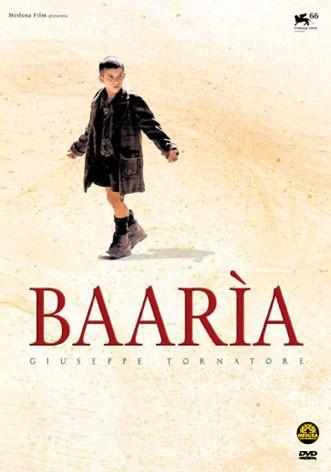 La copertina di Baarìa - ed. italiano + siciliano disco triplo (dvd)