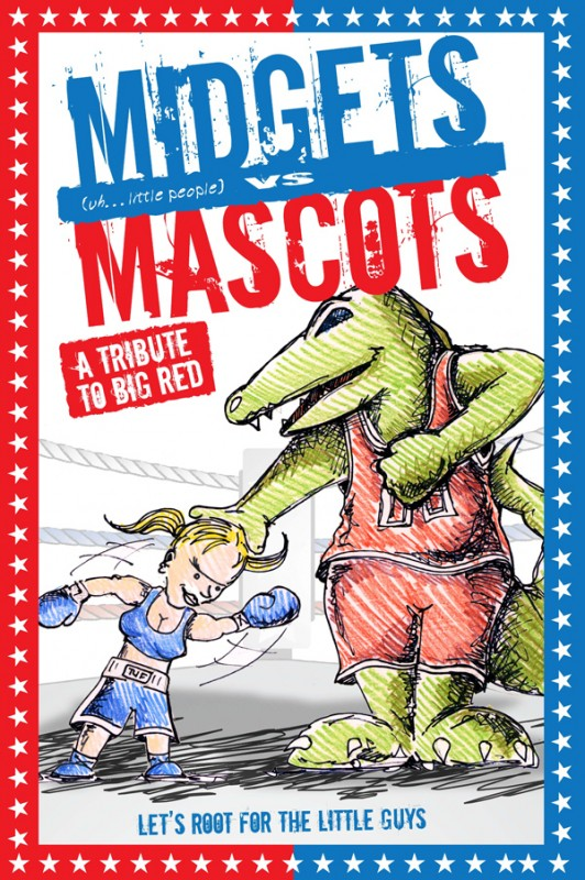 La locandina di Midgets vs. Mascots