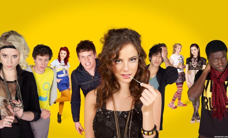 Skins: una foto promozionale del cast per la stagione 4