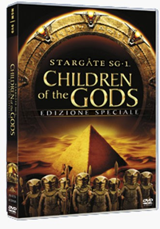 La copertina di Stargate SG1 - Children of the gods (dvd)