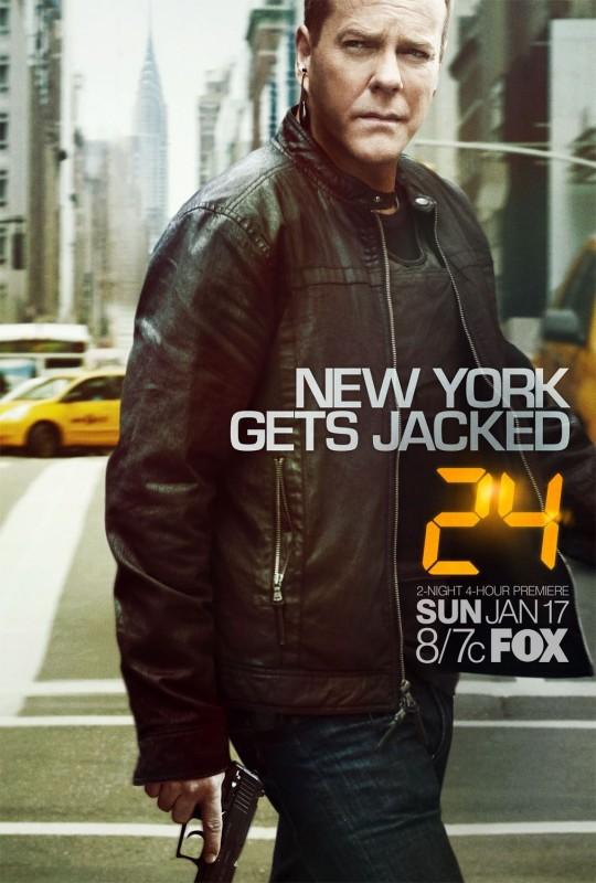 Un nuovo poster per la stagione 8 di 24