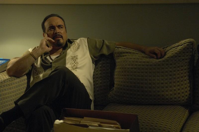 Il Sergente Angel Batista (David Zayas) in una scena dell'episodio Lost Boys di Dexter