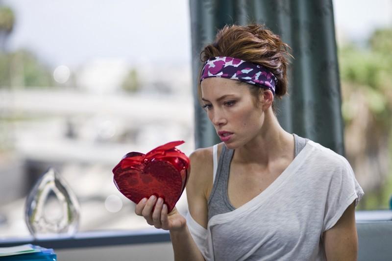Jessica Biel interpreta Kara Monahan nel film Valentine's Day