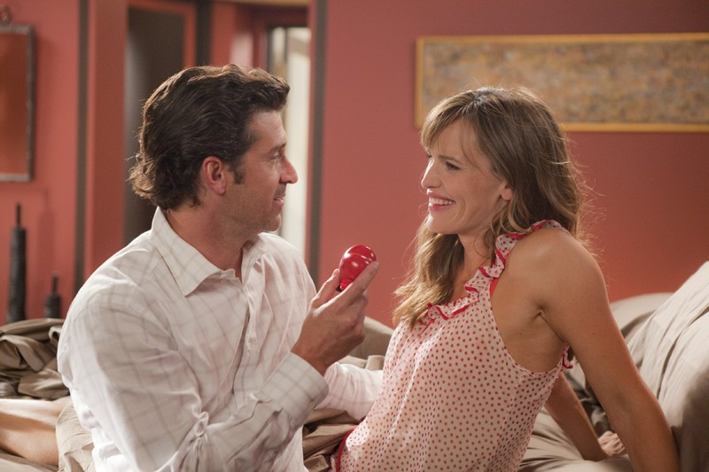 Patrick Dempsey e Jennifer Garner in una scena del film Valentine's Day