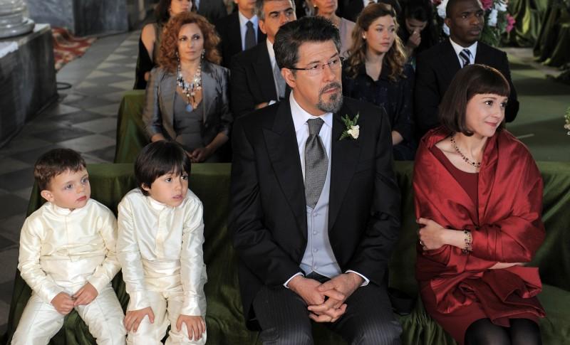Alessandro Benvenuti in un momento di Caterina e le sue figlie 3