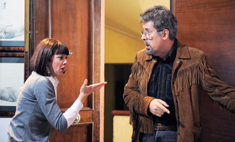 Alessandro Benvenuti in una scena di Caterina e le sue figlie 3