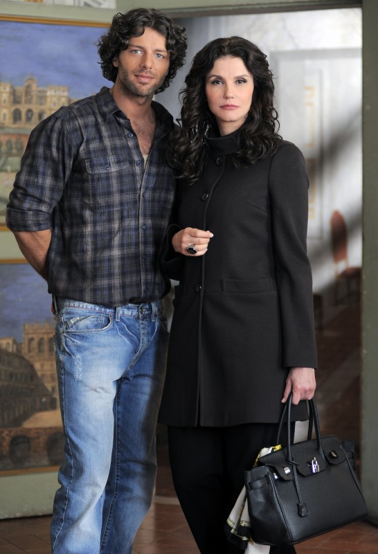 Francesco Testi ed Alessandra Martines in Caterina e le sue figlie 3