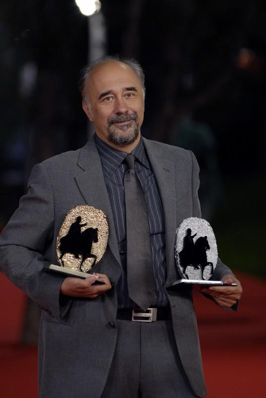 Giorgio Diritti, autore de L'uomo che verrà, al Festival di Roma 2009