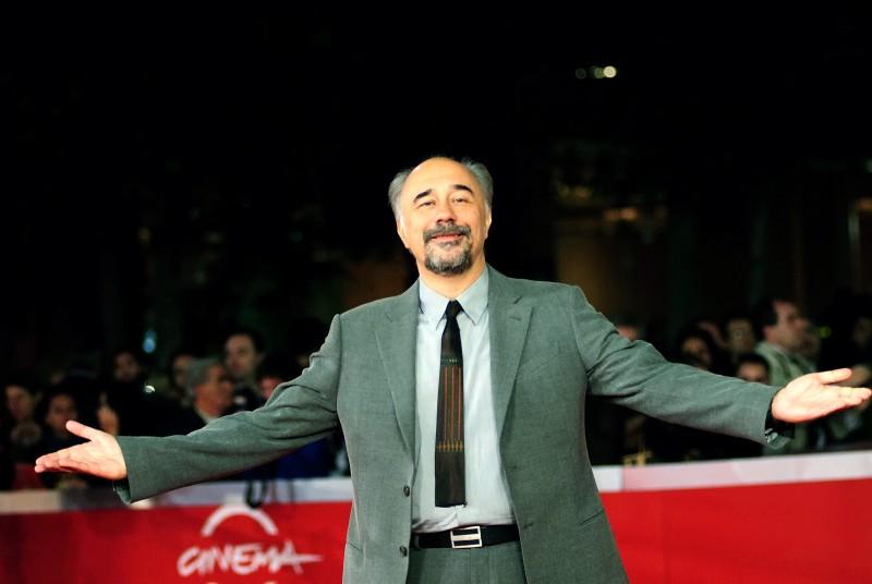 Giorgio Diritti, regista del film L'uomo che verrà, al Festival di Roma 2009