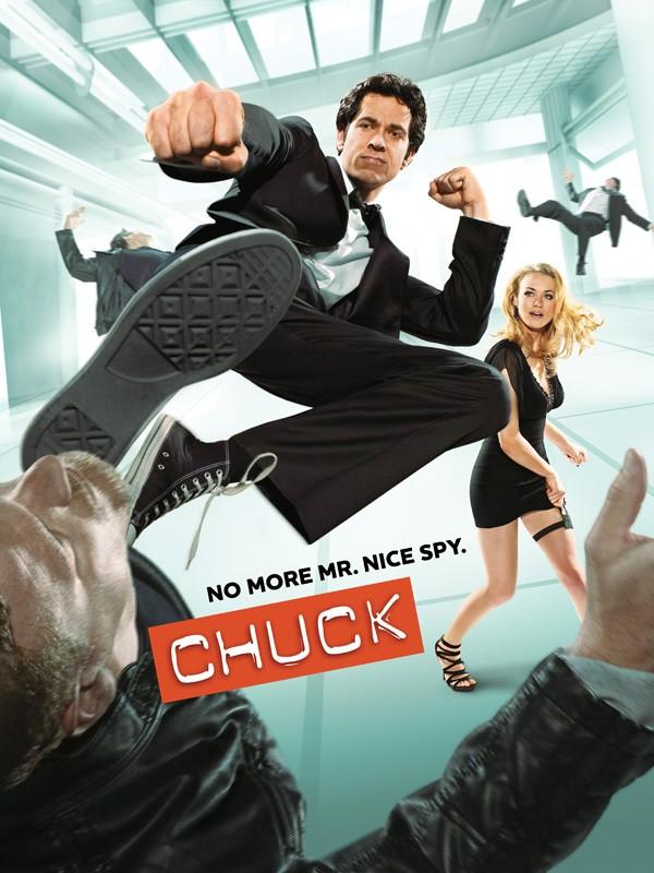 Il poster ufficiale della stagione 3 di Chuck