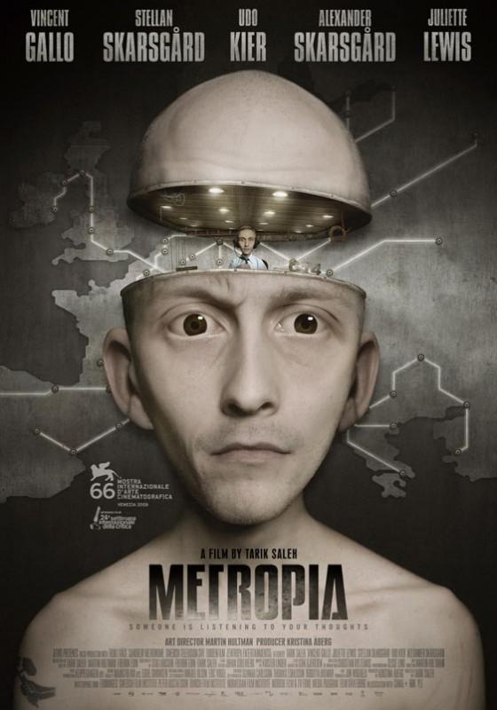 La locandina di Metropia