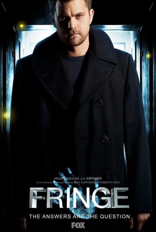 Nuovo Character Poster sul personaggio di Joshua Jackson per la Stagione 2 di Fringe