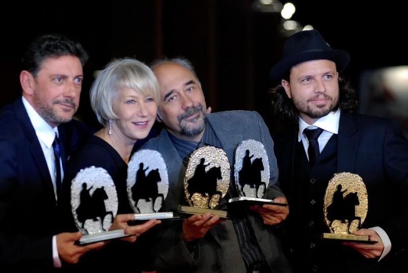 Sergio Castellitto, Helen Mirren, Giorgio Diritti e Nicolo Donato premiati al Festival di Roma 2009