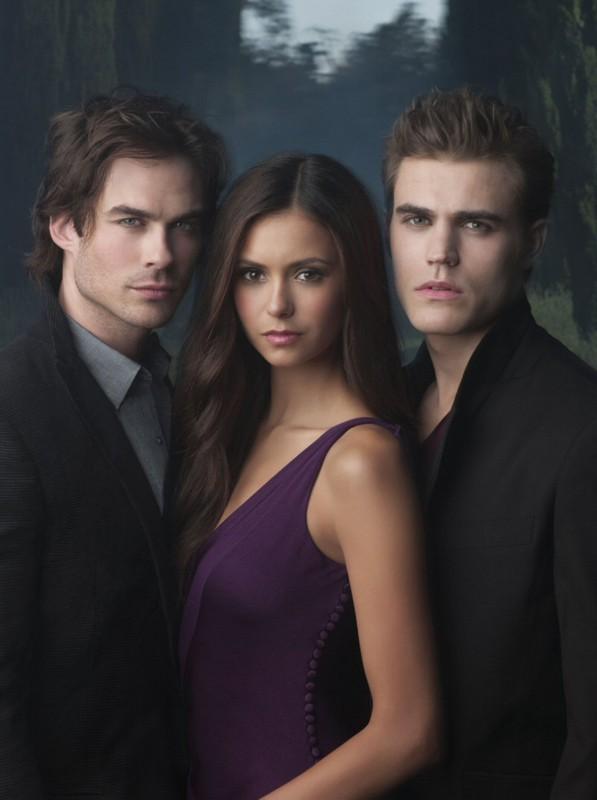 Una nuova immagine promozionale del trio protagonista per la prima stagione di The Vampire Diaries