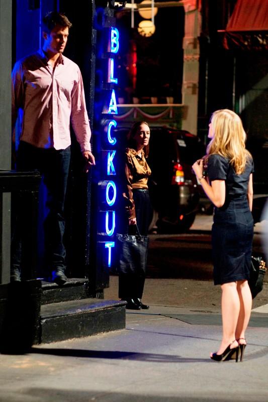 Una sequenza del film When in Rome con Nick (Josh Duhamel) e Beth (Kristen Bell)