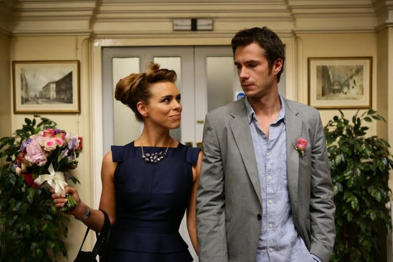 Billie Piper e James D'Arcy in una scena della stagione 3 di Diario di una squillo perbene