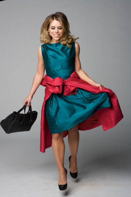 Billie Piper in una foto promozionale della stagione 3 di Diario di una squillo perbene