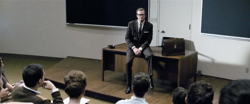 Colin Firth in un'immagine del film A Single Man