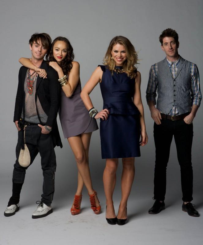 Diario di una squillo perbene: una foto promozionale del cast della stagione 3