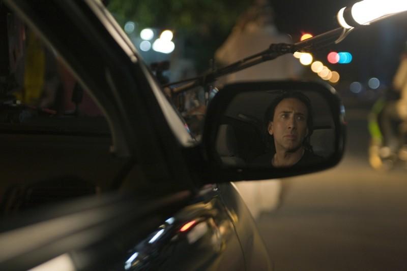 Nicolas Cage sul set del film Bangkok Dangerous