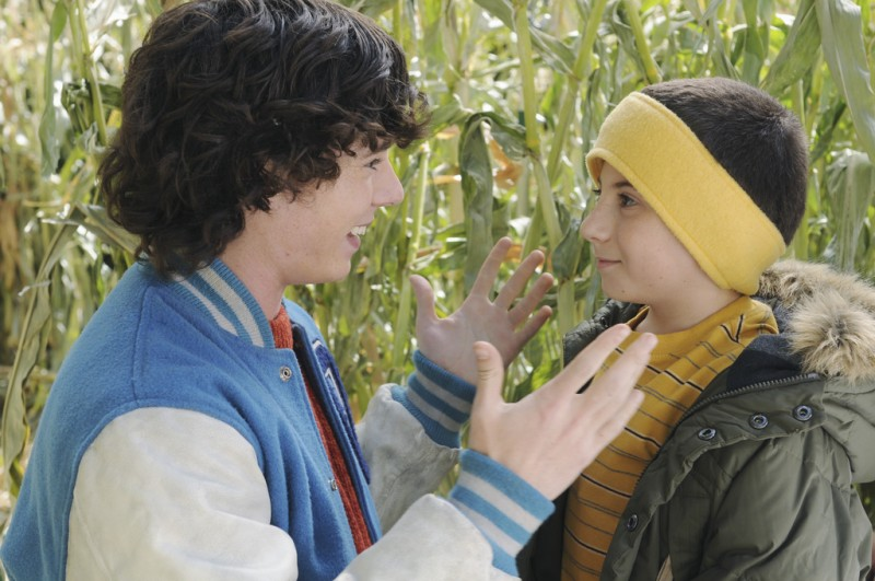 The Middle: Charlie McDermott ed Atticus Shaffer nell'episodio Thanksgiving