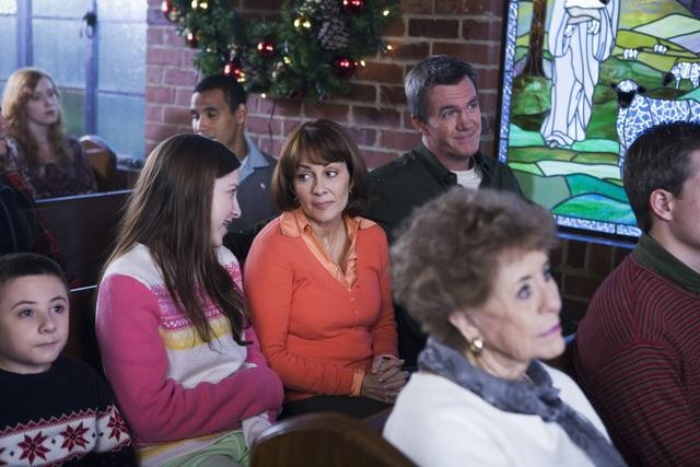 The Middle: Patricia Heaton ed Eden Sher  nell'episodio Christmas
