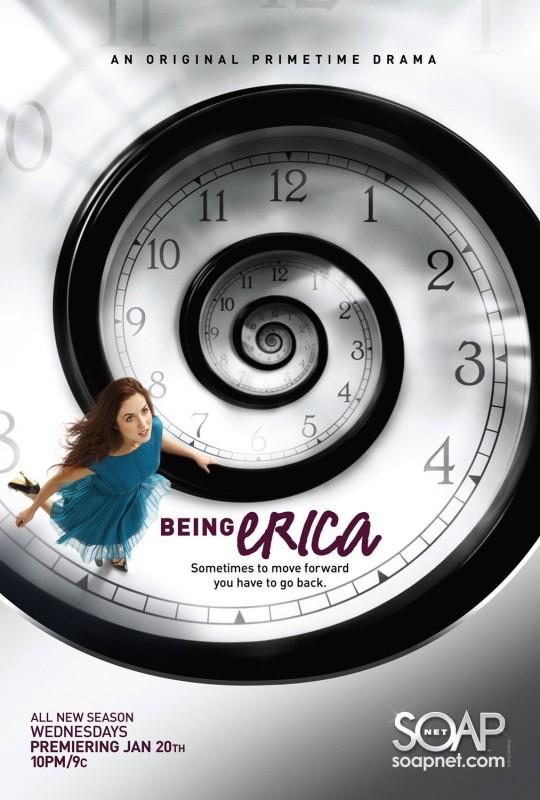 Un poster per la stagione 2 di Being Erica