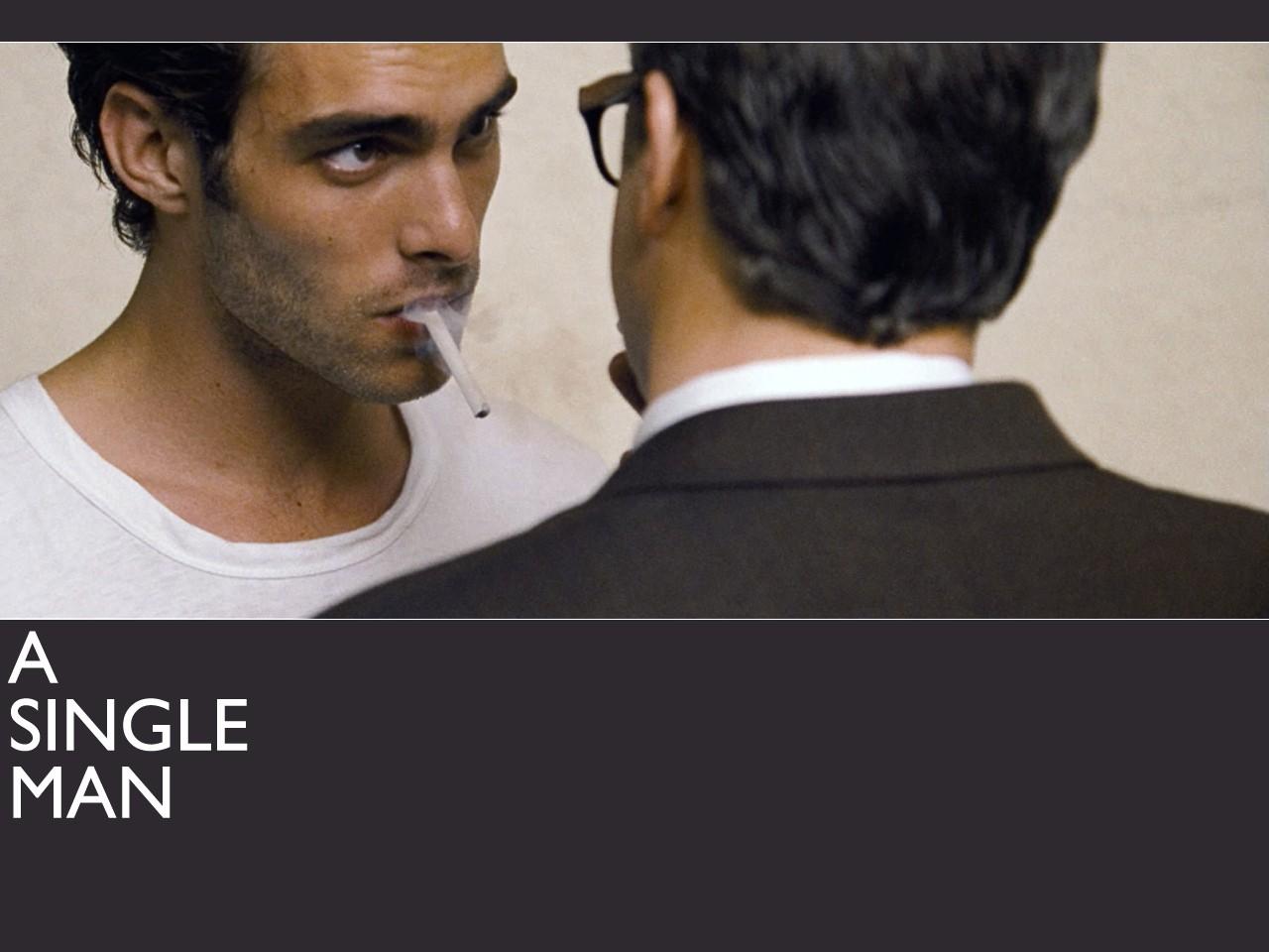 Un wallpaper del film A Single Man