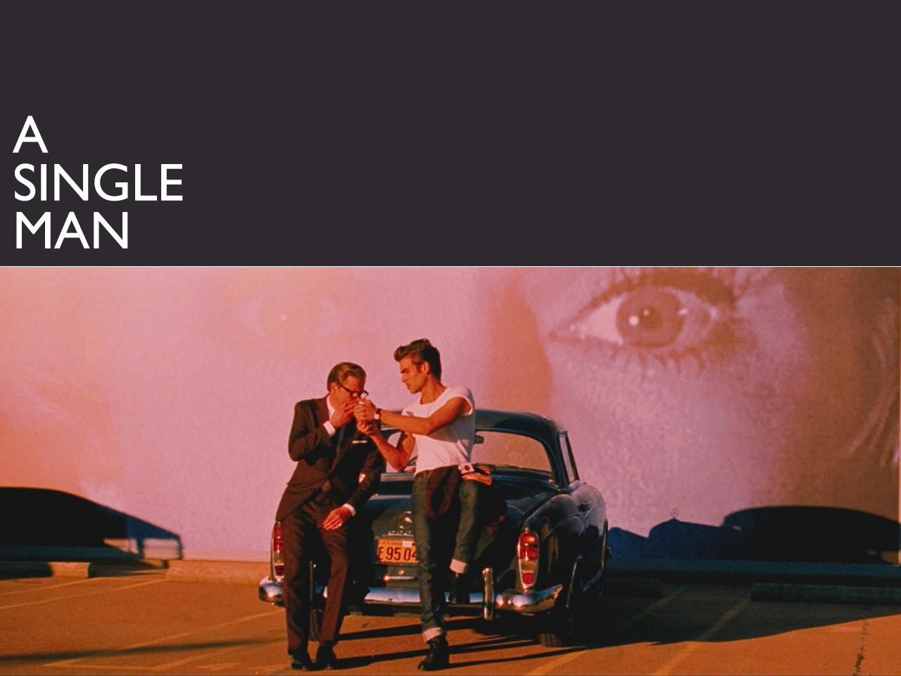 Wallpaper del film A Single Man, con Colin Firth