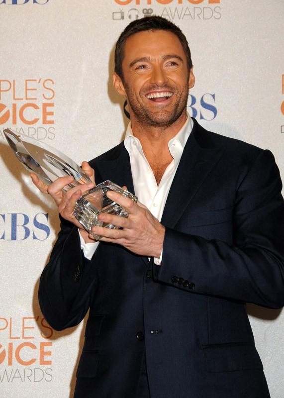 Hugh Jackman si aggiudica il premio come 'Migliore star in un film d'azione' ai People's Choice Awards 2010