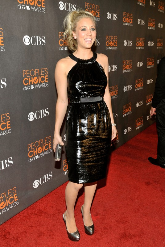 Kaley Cuoco ai People's Choice Awards 2010