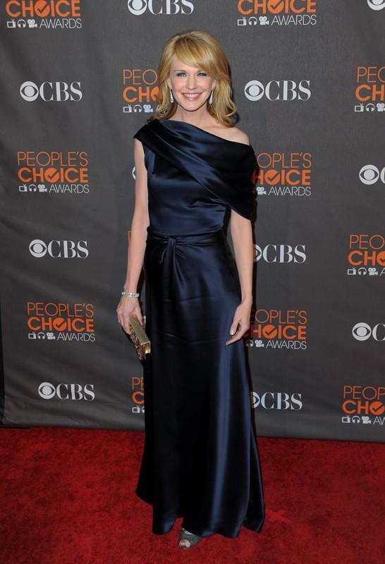 Kathryn Morris sul red carpet dei People's Choice Awards, a Los Angeles, il 6 Gennaio 2010