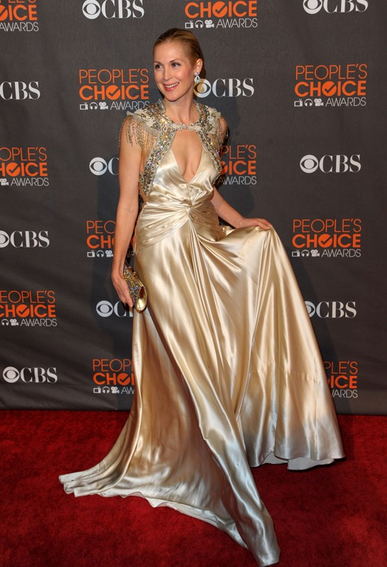 Kelly Rutherford sul red carpet dei People's Choice Awards 2010