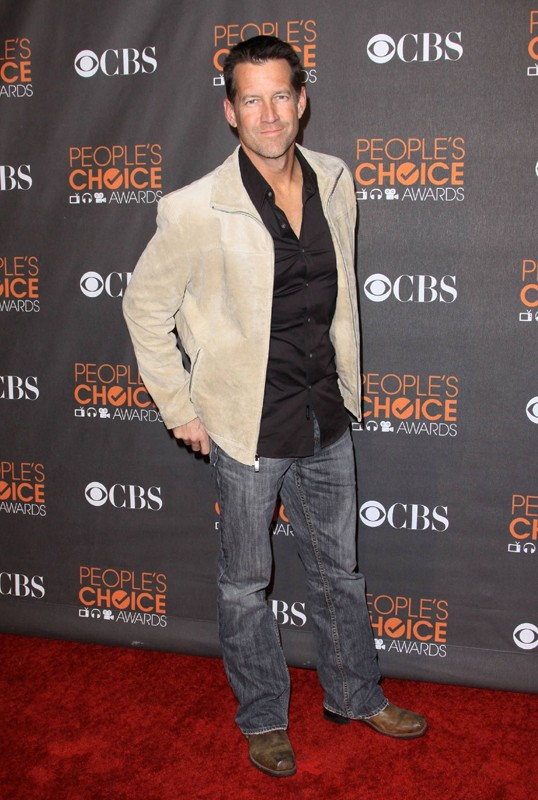 L'attore James Denton sul red carpet dei People's Choice Awards 2010