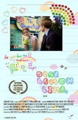 La locandina di Dear Lemon Lima