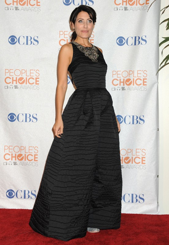 Lisa Edelstein ai People's Choice Awards 2010