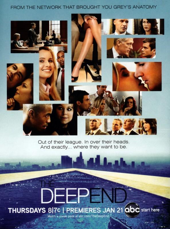 Un poster della nuova serie The Deep End