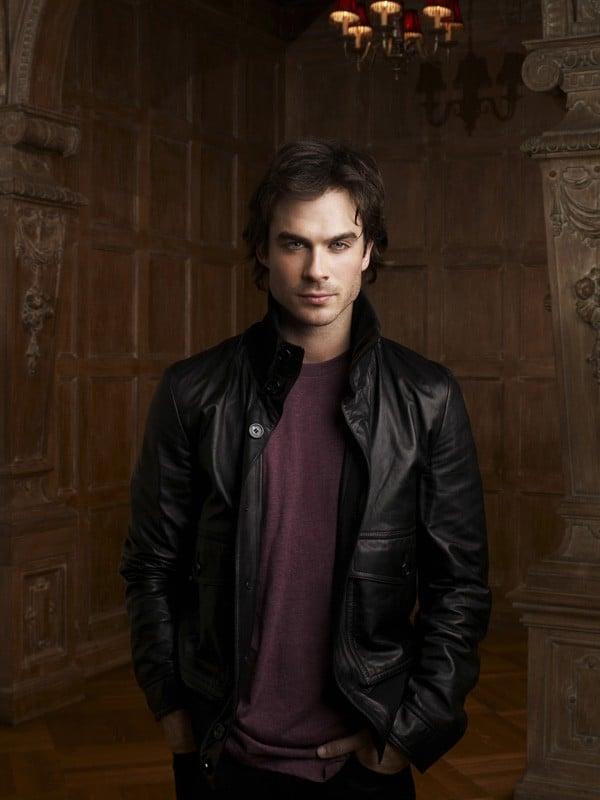 Una nuova immagine di Damon (Ian Somerhalder) per la prima stagione di The Vampire Diaries