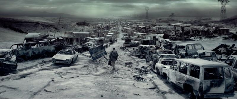 Denzel Washington in uno scenario apocalittico in Codice Genesi