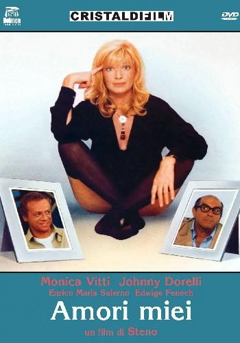 La copertina di Amori miei (dvd)