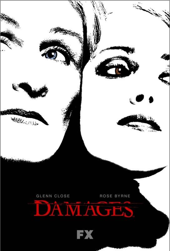 Un poster della stagione 3 di Damages