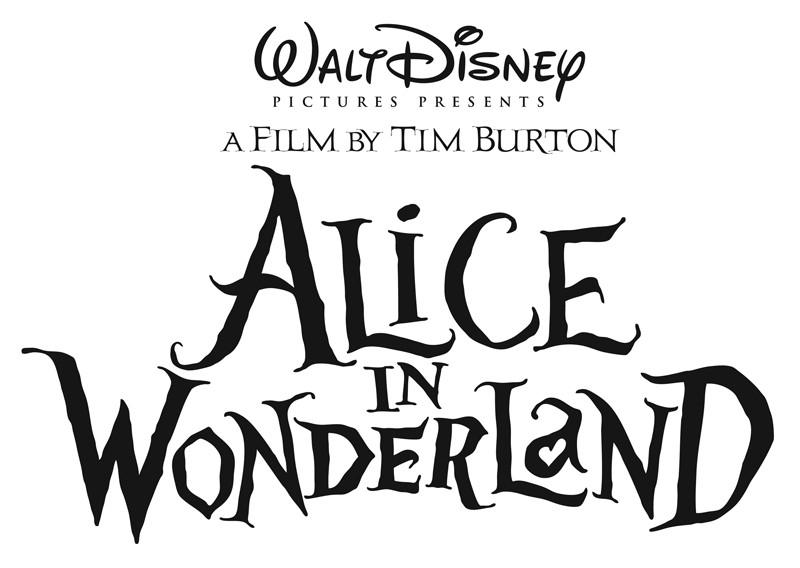 Il logo ufficiale del film Alice in Wonderland