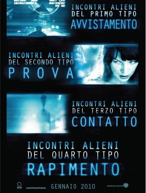Il poster italiano de Il quarto tipo
