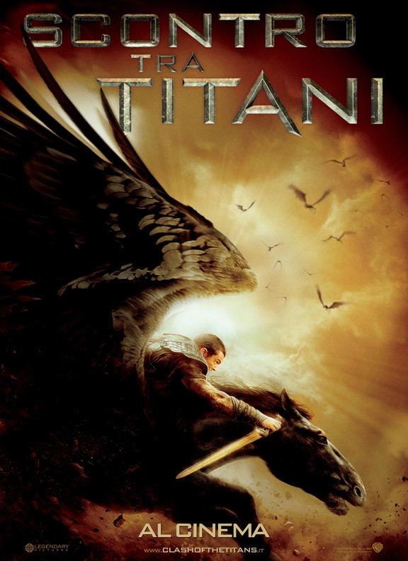 Secondo poster italiano per Scontro tra titani