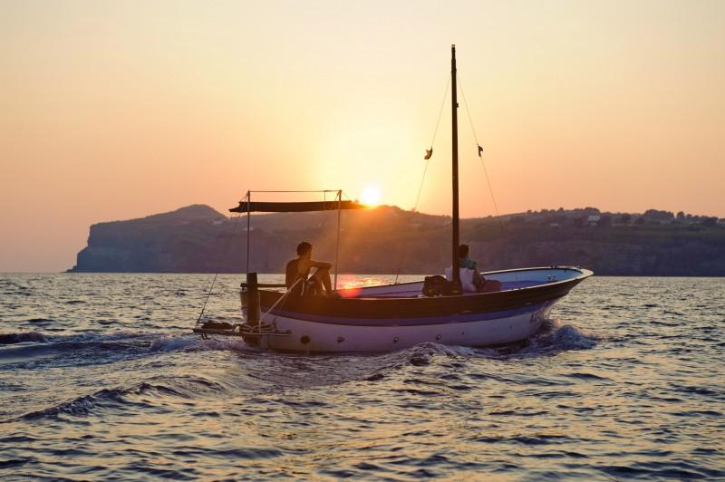 Un'immagine tratta dal film Sul mare di Alessandro D'Alatri