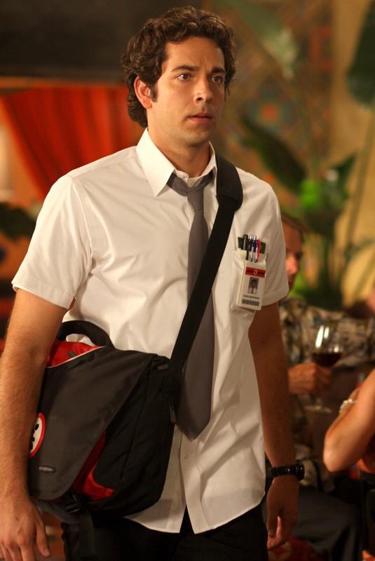 Zachary Levi nel ruolo di Chuck nell'episodio Chuck Vs the Pink Slip
