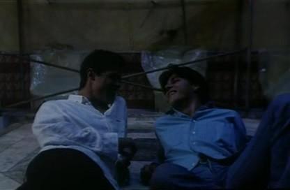 Alessandro Gassman e Mehmet Gunsur in una sequenza de Il bagno turco di Ferzan Ozpetek